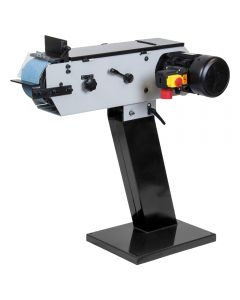 """SIP 01948 3"""" Belt Linisher with abrasive belt, tilting table with heavy duty construction for hear wearing use."""