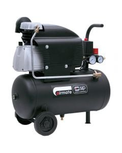 SIP Airmate TN2.5 50 litre air compressor with a free air delivery of 6.5CFM