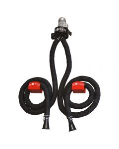SIP 05823 APN1 Wall Mounted Twin Hose 5m Gas Fume Extractor