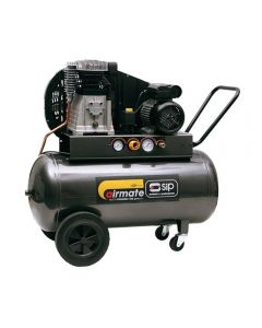 SIP Airmate ProTech oil lubricated belt drive air compressor