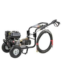 SIP 08926 207 bar petrol pressure washer with 6.5hp engine and 676 ltr/min flow rate