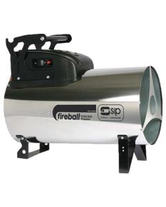SIP variable heat output propane gas space heater with dual voltage
